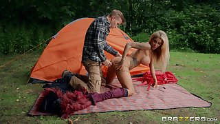 Sexy and wild Alice Judge enjoys hardcore outside fuck with a stranger