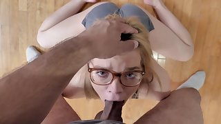 Petite hon gets transmitted to dick cunning play in transmitted to morning