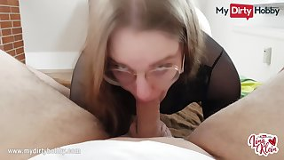 MyDirtyHobby - Nerdy babe swallows be beneficial to the roguish time POV